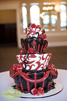 I want this cake some day.  SO fun!