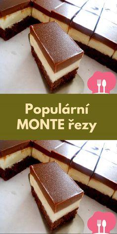 Populární MONTE rezy Nutella, Tiramisu, Ethnic Recipes, Food, Tiramisu Cake, Meals