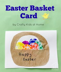 Making and sending home made cards to friends and family overseas at Easter, is a great activity to help kids stay connected to them. Try our fun Bubble wrap activity with your kids and create some Easter Basket cards to send this Easter.