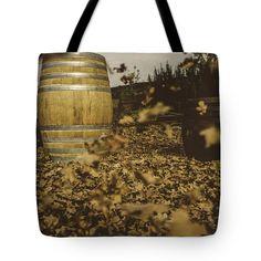 Fall In The Garden Tote Bag by Cesare Bargiggia
