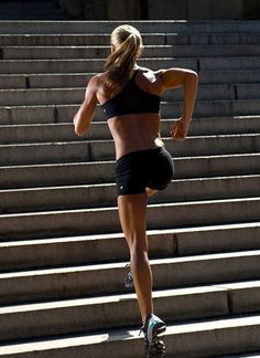 Hello hamstrings! Safe to say running up stadium stairs will probably result in incredibly sexy legs. More running tips on