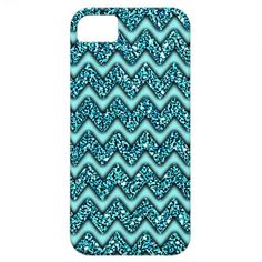 Popular Zig Zag Look. Unique, fashionable, trendy and pretty iPhone 5 case with contemporary image of turqouise colored faux glitter zigzag chevron pattern design. Made for the abstract digital graphic designer or artistic motif lover. Cute and fun present for dad's mom's birthday, Mother's or Father's day, Christmas gift, or those who want an artsy, classy, chic and cool phone cover. Also available for iPhone 3 and 4, Samsung Galaxy S2 and S3, iPod Touch, and Motorola Droid Razr.