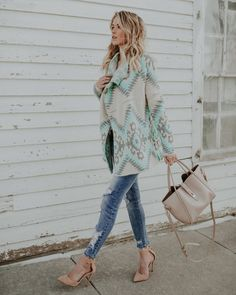Teal To The Touch Cardigan