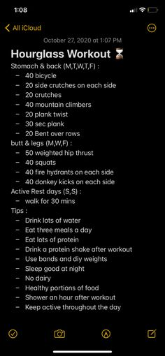 Summer Body Workouts, Full Body Gym Workout, Workouts For Teens, Gym Workout For Beginners, Gym Workout Tips, Fitness Workout For Women, Easy Workouts, Monday Workout, Hourglass Workout