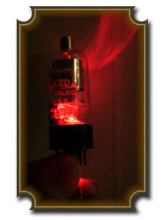 LED vacuum tube mod