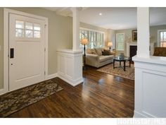 entryway diving two rooms - Google Search