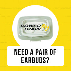 Tell someone you know about Power Train's Boot Camp, and when they sign up for an annual fitness membership, you'll receive a pair of Power Train Ear Buds. #ThisIsYourGo *Participating locations only.