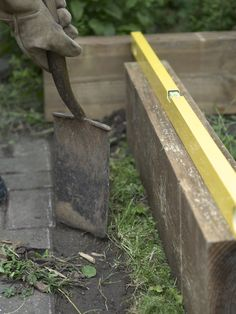 1000 images about diy landscaping on pinterest wood - Pressure treated wood for garden beds ...