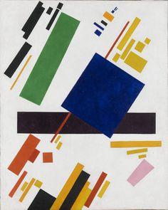 Composición suprematista / Kazimir Malevich.