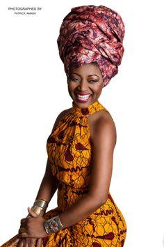 African Print Photographer: Patrick Amara