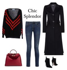"""Chic splendor"" by chic-splendor on Polyvore featuring Prada, Fendi, dVb Victoria Beckham, Harrods and Gucci"