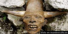 Antigua Raza Humana con Cuernos y mas de 2 Metros de altura encontrados en América del Norte