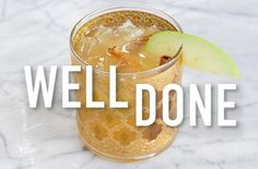 Take your margarita from summer to fall with this apple cider twist #tequilacocktails