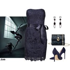 """""""Adrianna Papell"""" by lellelelle on Polyvore"""