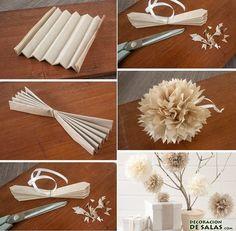 Ideas para decorar la casa reciclando