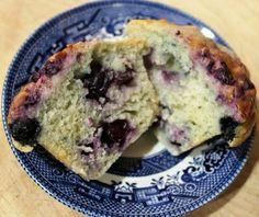Vegan Blueberry Cream Cheese Muffins