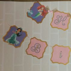 Princess banner work in progress!!!
