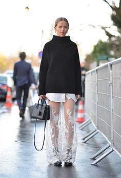 That gossamer skirt.  Photo: Jonathan Daniel Pryce