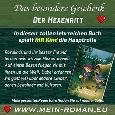 """""""Wie kommt denn mein Name in das Buch?"""" :) - Ein spannendes, lehrreiches Buch zum aktiven Mitmachen. Für Mädchen und Jungen ab 6 Jahre. Mehr unter: www.mein-roman.eu"""