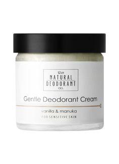 Natural Deodorant Co Gentle Deodorant Cream Vanilla & Manuka