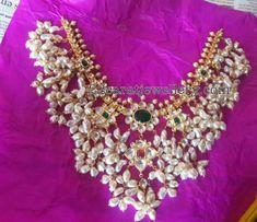 Heavy look Light Weight Gottapusalu - Jewellery Designs