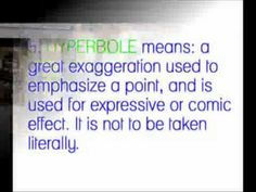 Will Ferrell demonstrates figurative language :)