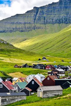 Gjógv / Island Paradise: Exploring the Stunning Faroe Islands / Sidetracked The Places Youll Go, Places To Visit, Beautiful World, Beautiful Places, Places To Travel, Travel Destinations, Faroe Islands, Landscape Photography, Scenic Photography