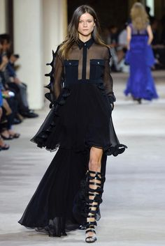 Emanuel Ungaro Spring 2014 Ready-to-Wear