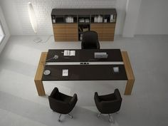 contemporary executive office desk - ACCADEMIA   - ArchiExpo