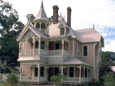 Queen Anne Victorian Homes | VICTORIAN STYLE HOUSES - QUEEN ANNE | House Plans by Garrell ...