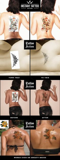 Instant Tattoo Action. Photo Effect Photoshop Actions. $4.00