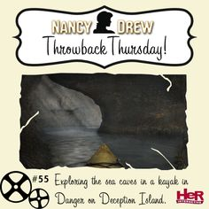Throwback Thursday moment featuring Nancy Drew: Danger on Deception Island. #TBT #NancyDrew #DDI