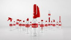 Coca-Cola Invents 16 Bottle Caps To Give Second Lives To Empty Bottles. Rolled out in Vietnam. Come on Coca-cola. Empty Bottles, Soda Bottles, Plastic Bottles, Shampoo Bottles, Plastic Containers, Wine Bottles, Perfume Bottles, Pub Coca, Soda Drink