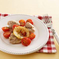 鶏肉とトマトの塩レモン炒め | レシピ | ダイエット、レシピ、運動のことならフィッテ | FYTTE