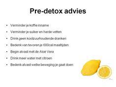 Pre-detox