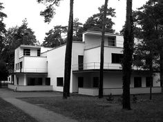 The Muche/Schlemmer House, Dessau, Germany, by Walter Gropius