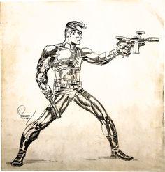Nick Fury by Jim Steranko