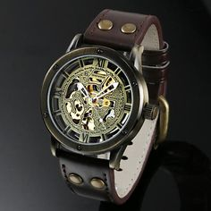 men's Armani watch Armani Watches For Men, Skeleton Watches, Must Have Items, Dreaming Of You, How To Look Better, Bronze, Antiques, Perennial, Accessories