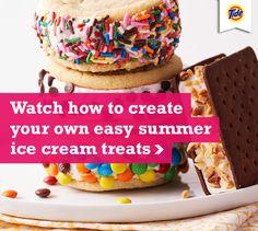 Easy Summer Ice Cream Treats