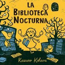 Érase unha vez unha biblioteca que abría soamente pola noite... Entra na biblioteca nocturna coñece a unha pequena e simpática bibliotecaria e os seus tres bufo-axudantes.