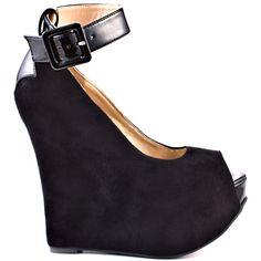 Heels I Love #heels #summer #high_heels #color #love #shoes Roll Call - Black                      Luichiny