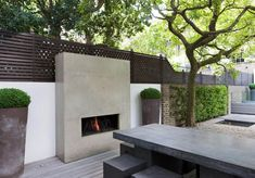 outdoor fireplace london - Google Search