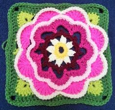 CAL Lily Pond: Teil 8 - PATTERN IS IN ENGLISH & FREE