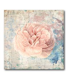 Vintage Pink Romance Gallery-Wrapped Canvas