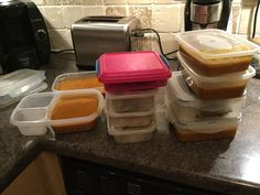 A whole week of healthy food prep - done! Great job Kelly!