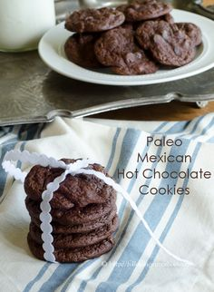 Paleo Mexican Hot Chocolate Cookies PLUS 15 Grain-free Holiday Cookie Recipes