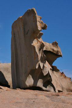 Looks like a sculpture-Rocks of Kangaroo Island, Australia