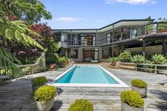 Marius Stanis - Lodge Real Estate Hamilton, New Zealand: For Sale by Auction - 736 RIVER ROAD, CHARTWELL - ... Hamilton, The Row, Family Room, Auction, Deck, Real Estate, Exterior, River, Building