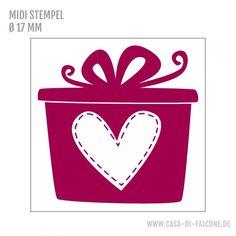 MIDI Motivstempel Geschenk - Casa di Falcone