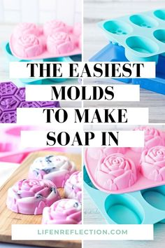 These are the easiest soap molds to make soap in at home. Trust me, I've tried them all! Soap Making Recipes, Soap Recipes, Soap Supplies, Best Soap, Soap Base, Cold Process Soap, Soap Molds, Home Made Soap, Trust